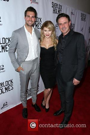 James Maslow, Renee Olstead , David Arquette - Celebrities attend the opening night of Sir Arthur Conan Doyle's 'Sherlock Holmes'...