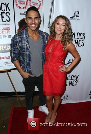 Carlos Pena, Jr. and Alexa Vega