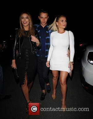 Ferne McCann, Bobby Norris , Billie Faiers - The 'TOWIE' cast heads to dinner at Alec's Restaurant in Essex -...