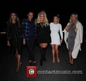 Ferne McCann, Bobby Norris, Gemma Collins, Billie Faiers , Danielle Armstrong - The 'TOWIE' cast heads to dinner at Alec's...