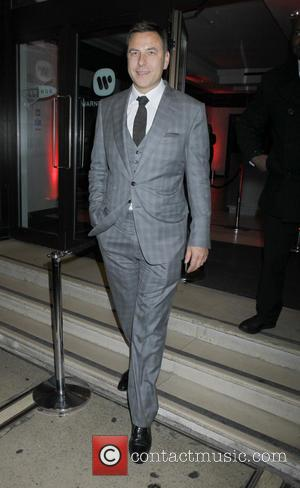 David Walliams - Ant & Dec's 40th birthday party held at Kensington Roof Gardens - Departures - London, United Kingdom...