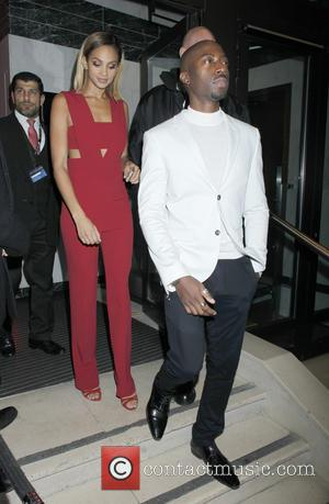 Alesha Dixon , Azuka Ononye - Ant & Dec's 40th birthday party held at Kensington Roof Gardens - Departures -...