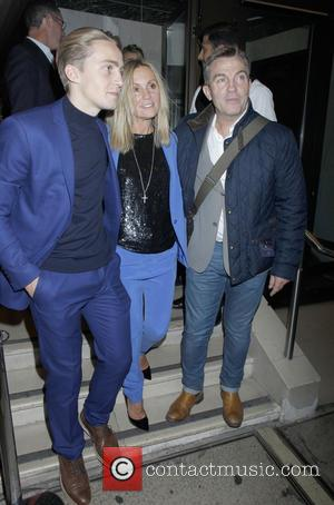Bradley Walsh - Ant & Dec's 40th birthday party held at Kensington Roof Gardens - Departures - London, United Kingdom...