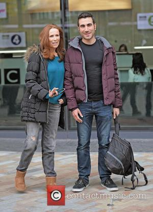 Catherine Tate , Brett Goldstein - Catherine Tate leaves the BBC Breakfast Studio's at Media City Manchester, after appearing on...