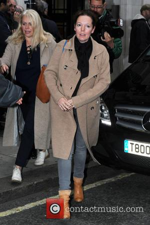 Olivia Colman - Celebrities at the BBC Radio 2 studios - London, United Kingdom - Friday 16th October 2015