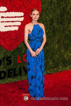 Diane Kruger - Ninth annual God's Love We Deliver Golden Heart Awards gala at Spring Studios - Arrivals - New...