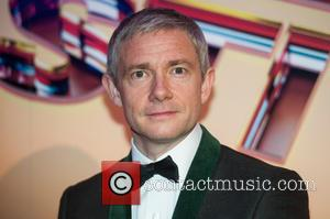 Martin Freeman - 59th British Film Institute London Film Festival - Awards Ceremony - London, United Kingdom - Saturday 17th...