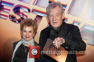 Sir Ian McKellen , Guest - 59th British Film Institute London Film Festival - Awards Ceremony - London, United Kingdom...
