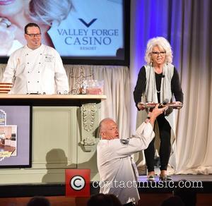 Chef Frank Benowitz and Paula Deen