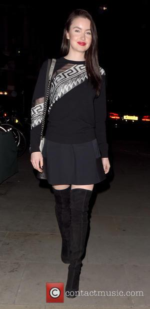 Emma Miller - Celebrities visit Chiltern Firehouse - London, United Kingdom - Saturday 17th October 2015