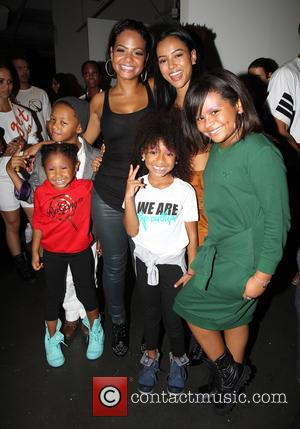 Christina Milian , Karrueche Tran - Style Fashion Week L.A. Spring/Summer 2016 - Christina Milian Show - Los Angeles, California,...
