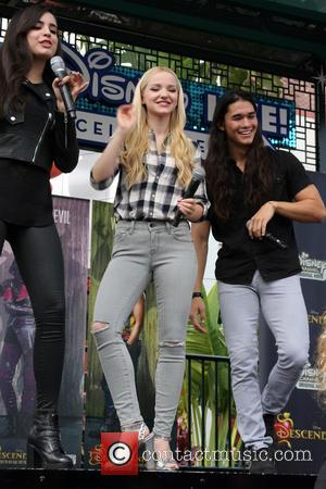 Dove Cameron, Sofia Carson , Booboo Stewart - 'Descendants' perform and join fans at Downtown Disney at Disneyland Resort at...