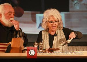 Paula Deen , Michael Groover - Paula Deen meet and greet at the Valley Forge Casino Resort to promote her...