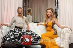 Annalynne McCord , Izabella Miko - 4th Annual Saving Innocence Gala at the SLS Hotel Beverly Hills - Inside at...