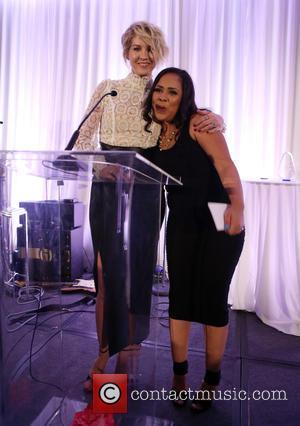 Jenna Elfman , Jessica Midkiff - 4th Annual Saving Innocence Gala at the SLS Hotel Beverly Hills - Inside at...