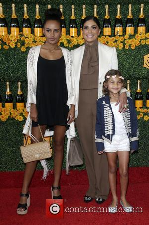 Rachel Roy, Ava Dash , Tallulah Dash - 6th Annual Veuve Clicquot Polo Classic Los Angeles at Will Rogers State...