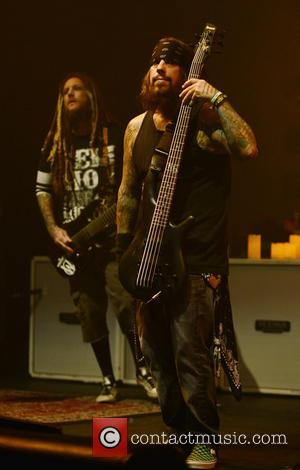 Korn, Brian Head Welch, Reginald Fieldy Arvizu and Jackie Gleason