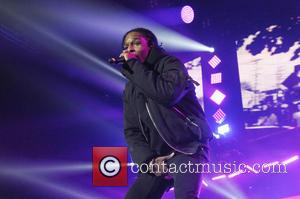 A$AP Rocky - A$AP Rocky and Wiz Khalifa peform at the O2 Arena London at The 02 Arena - London,...