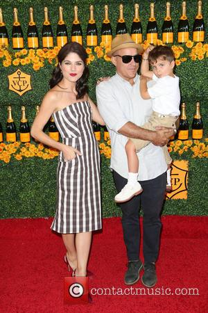 Selma Blair, Jason Bleick and Arthur Saint Bleick