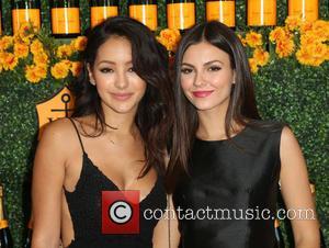 Melanie Iglesias and Victoria Justice