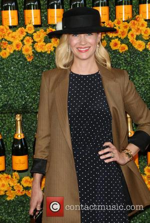 January Jones - 6th Annual Veuve Clicquot Polo Classic Los Angeles at Will Rogers State Historic Park at Will Rogers...