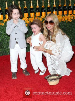 Rachel Zoe, Skyler Morrison Berman , Kaius Jagger Berman - 6th Annual Veuve Clicquot Polo Classic Los Angeles at Will...