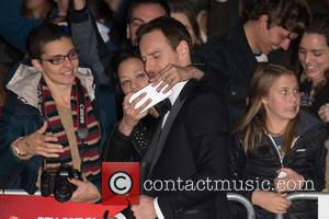 Michael Fassbender - BFI London Film Festival Closing Night Premiere of 'Steve Jobs' - Arrivals at Odeon Leicester Square -...