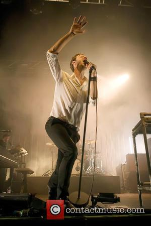 Tom Smith - Editors perform live in concert at the O2 Academy at O2 Academy - Glasgow, Scotland, United Kingdom...