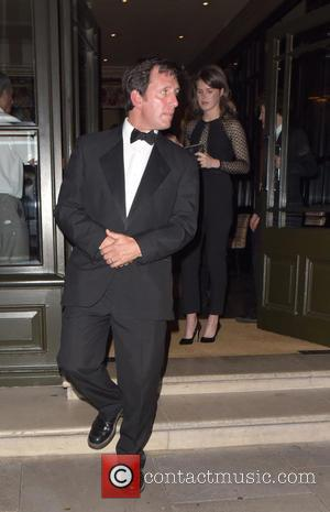 Roger Winslet - Kate Winslet leaves her hotel with family and friends for the 'Steve Jobs' premiere - London, United...