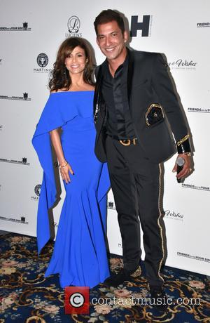 Paula Abdul , Martino Cartier - Paula Abdul and Ruben Studdard Appearance Wigs and Wishes cancer benefit with Martino Cartier...