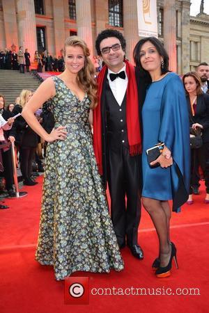 Nina Eichinger, Rolando Villazon and Lucia Villazon