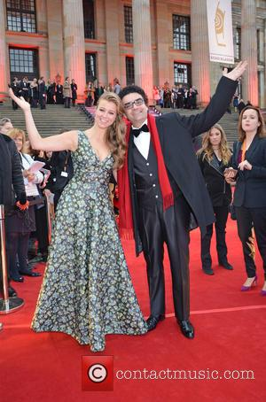 Nina Eichinger and Rolando Villazon