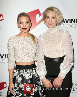 Annalynne McCord , Jenna Elfman - Saving Innocence 4th Annual Gala - Arrivals at SLS Hotel - Beverly Hills, California,...