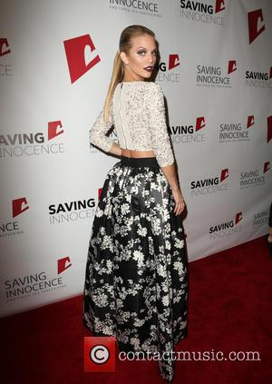 Annalynne McCord - Saving Innocence 4th Annual Gala - Arrivals at SLS Hotel - Beverly Hills, California, United States -...