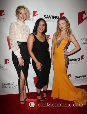 Jenna Elfman, Kim Biddle , Izabella Miko - Saving Innocence 4th Annual Gala - Arrivals at SLS Hotel - Beverly...
