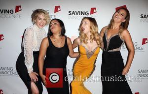 Jenna Elfman, Jessica Midkiff, Izabella Miko , Kim Biddle - Saving Innocence 4th Annual Gala - Arrivals at SLS Hotel...