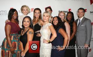 Jenna Elfman, Kim Biddle, Hannah Hajek, Jessica Midkiff , Guests - Saving Innocence 4th Annual Gala - Arrivals at SLS...