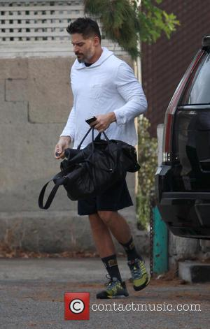 Joe Manganiello - Joe Manganiello arriving at a gym in West Hollywood - Los Angeles, California, United States - Monday...