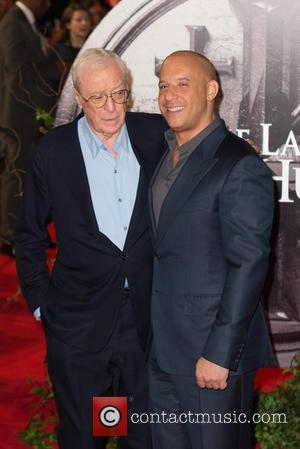 Vin Diesel , Sir Michael Caine - The European Premiere of 'The Last Witch Hunter' held at the Empire Leicester...