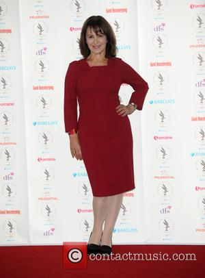 Arlene Phillips - Women Of The Year Awards Arrivals at The Intercontinental Hotel in Park Lane - London, United Kingdom...