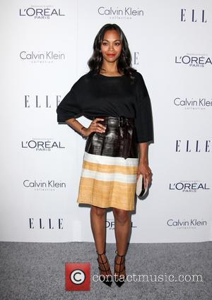 Zoe Saldana - 22nd Annual ELLE Women in Hollywood Awards - Arrivals at Four Seasons Hotel Los Angeles at Beverly...