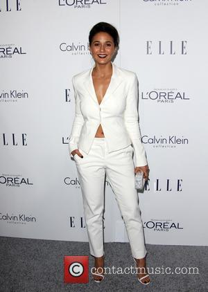 Emmanuelle Chriqui - 22nd Annual ELLE Women in Hollywood Awards - Arrivals at Four Seasons Hotel Los Angeles at Beverly...
