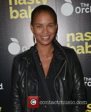 Joy Bryant - Los Angeles premiere of The Orchard's 'Nasty Baby' held at ArcLight Hollywood - Arrivals at ArcLight Hollywood...