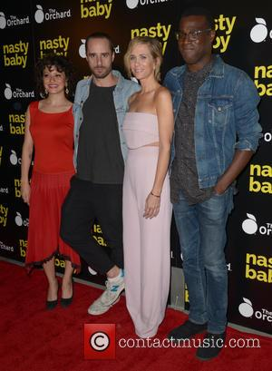 Alia Shawkat, Sebastian Silva, Kristen Wiig , Tunde Adebimpe - Los Angeles premiere of The Orchard's 'Nasty Baby' held at...