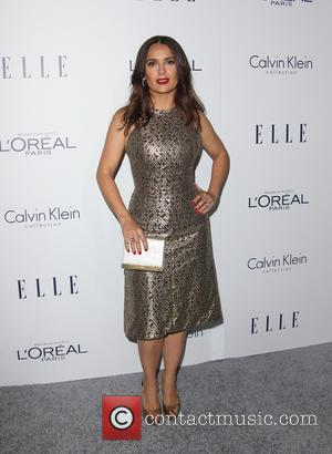 Salma Hayek - 2015 ELLE Women in Hollywood Awards at Four Seasons Hotel Los Angeles at Beverly Hills - Beverly...