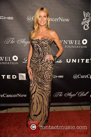Heidi Klum - 2015 Angel Ball at Cipriani Wall Street - Arrivals at Cipriani 55 Wall St. - New York...