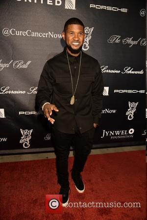 Usher - 2015 Angel Ball at Cipriani Wall Street - Arrivals at Cipriani 55 Wall St. - New York City,...