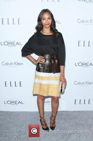 Zoe Saldana - Elle Women in Hollywood Awards 22nd Annual Celebration held at the Four Seasons Hotel Beverly Hills -...