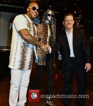 Flo Rida and Bill Wright