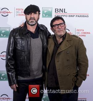 Eric Cantona and Sergi Lopez
